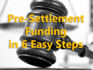 Pre-Settlement Funding in 6 Easy Steps
